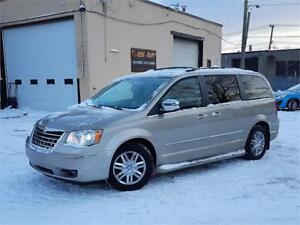CHRYSLER TOWN & COUNTRY LIMITED 2008/CUIR/CAMÉRA/GPS/STOWN&GO!!!