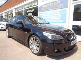 BMW 530 3.0TD auto 2006 d M Sport S/H £4955 added extras 1 former keeper p/x