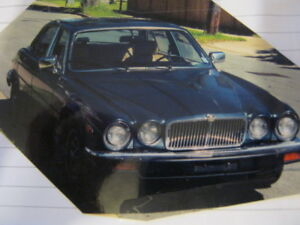 Charcoal Blue 1983 XJ6 Jaguar