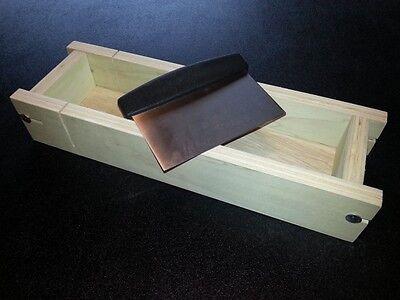 Adjustable SOAP BAR CUTTER, 3-1 Lb Cold Process Loaf Mold Wooden Wood
