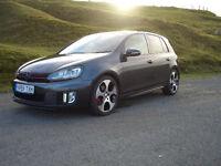 2009 Volkswagen Golf GTI,5dr, Carbon Grey,Low Mileage, Leather,Sat-Nav, Zenon Lights,Long Mot