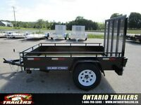 2016 Sure Trac 5x8 Steel high side / ramp gate