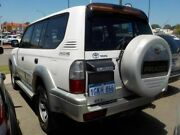 2000 Toyota Landcruiser VZJ95R Prado GXL White 5 Speed Manual Wagon Victoria Park Victoria Park Area Preview