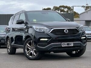 2019 Ssangyong Rexton Black Sports Automatic Wagon Hoppers Crossing Wyndham Area Preview