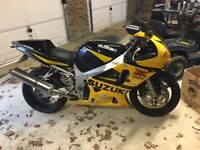 suzuki gsxr 600 k2 vgc, swap/px for bigger bike r1/cbr929/zx10/gsxr1000