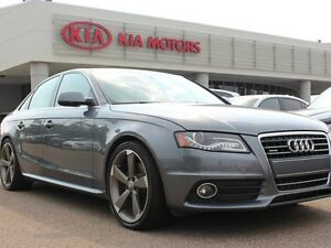 2012 Audi A4 2.0T PREMIUM AWD, SUNROOF, HEATED SEATS, NAVI, LEA