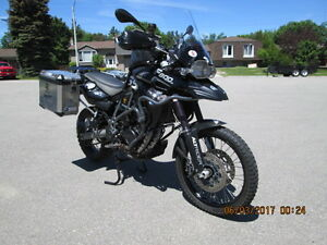 BMW F800GS TRIPLE BLACK - reduced to $11,500.00