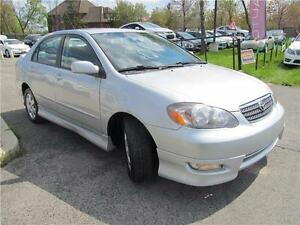 "2005 Toyota Corolla Sport "" CLEAN"" 4 NEW TIRES INSTALLED W/PRICE Oakville / Halton Region Toronto (GTA) image 2"