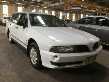 2001 Mitsubishi Magna TJ Executive Automatic Wagon