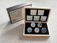 Royal Canadian Mint Great Lakes .9999 Fine Silver $20 Coin Set