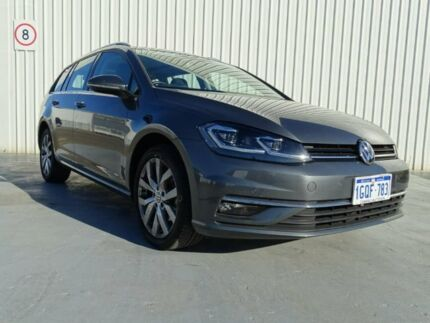 2017 Volkswagen Golf 7.5 MY18 110TSI DSG Highline Grey 7 Speed Sports Automatic Dual Clutch Wagon Canning Vale Canning Area Preview