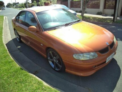 2000 Holden Commodore VT II SS Gold Orange 4 Speed Automatic Sedan Somerton Park Holdfast Bay Preview