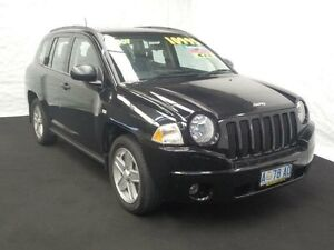2007 Jeep Compass MK Sport Black Continuous Variable Wagon Derwent Park Glenorchy Area Preview