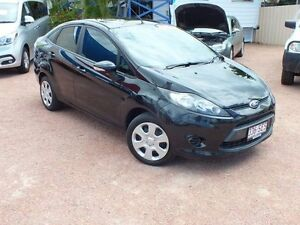 2010 Ford Fiesta WT LX Black 5 Speed Manual Sedan Rosslea Townsville City Preview