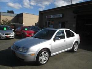 2004 Volkswagen Jetta Sedan GLS Turbo