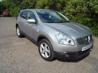 NISSAN QASHQAI ACENTA 2009 1,5 DISEL Very low mileage.