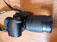 NIKON D5000 WITH LENSES AND MORE!!!