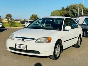 2000 Honda Civic EK GLi White 4 Speed Automatic Sedan Mawson Lakes Salisbury Area Preview