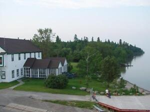 Work at the Lake this Summer