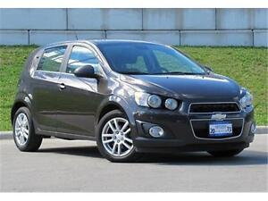 2013 Chevrolet Sonic LT Sunroof|Heated Seats|7-inch Touch Screen