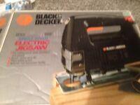 Black and Decker Electric Jigsaw