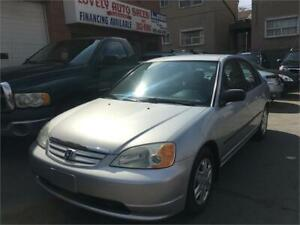 2003 Honda Civic Sdn DX-G,LOW LOW KM SERVICE RECORD AVAILABLE