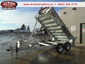 GET THE BEST BUILT DUMP TRAILER IN THE INDUSTRY 6X12 -5 TON
