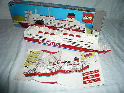 """Lego -1655 - Fähre """"Mariella"""" Viking Line - Denmark -  1985 - Werbemodell - OVP"""