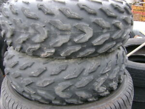 goodyear rawhide rs 12 inch atv tires sell all 4 for 125.
