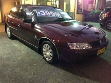 2002 Holden Commodore VY Executive Burgundy 4 Speed Automatic Sedan Broadmeadow Newcastle Area Preview