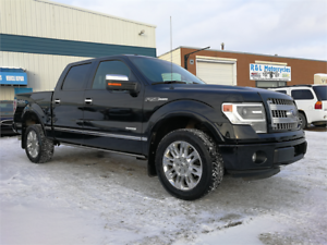 2013 Ford F-150 Platinum Ecoboost LEATHER/NAV/SUNROOF/CAMERA