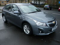Chevrolet Cruze 1.6i 16V 124BHP LT **One Owner / Full Service History** (grey) 2013