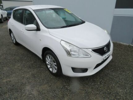 2014 Nissan Pulsar C12 ST White 1 Speed Constant Variable Hatchback