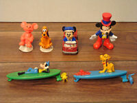 Vintage Disney and Mickey Mouse Toy Lot