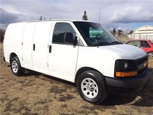 2013 GMC Savana 2500 with Divider ONLY 42KM
