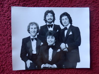 THE BLACK ABBOTS  WITH RUSS ABBOT - 10 X 8 INCH B/W PHOTO