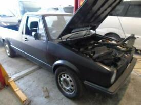 Volkswagen caddy pick up mk1 black project 1.9 tdi spares or repair