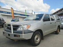2006 Toyota Hilux TGN16R MY05 Workmate Silver 5 Speed Manual Utility Greenslopes Brisbane South West Preview