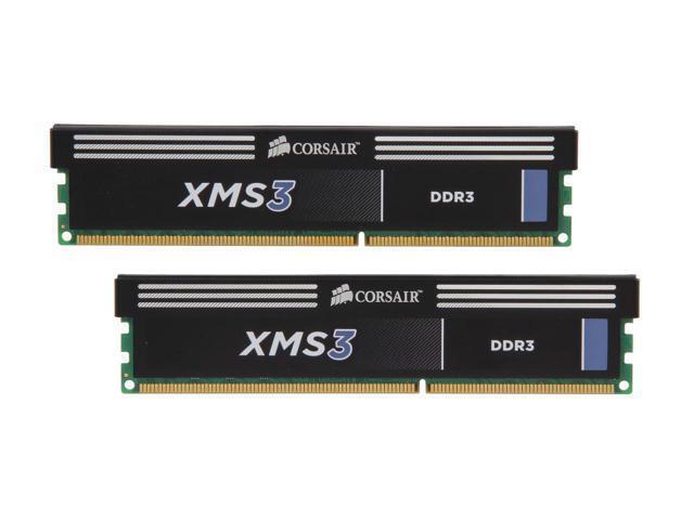 Corsair XMS3 2-Pack 8GB CL9 DDR3 DIMM Desktop Memory Kit Multi CMX16GX3M2A1333C9