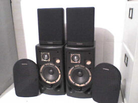 60W Panasonic Stereo Speakers + a set of FREE Speakers & Cables - Heathrow