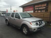 2012 Nissan Frontier SV 4X4***Only 50kms****CREW CAB***TOPPER***