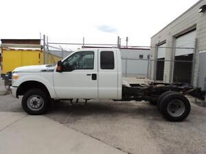 2011 Ford F350 Ext Cab 4x4 Cab and Chassis 6.2L gas