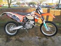 KTM XCF 250 2012 ENDURO MOTOCROSS MOTORCYCLE