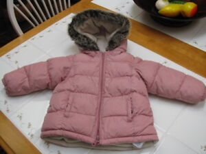 Girls Coat and Snow Pants