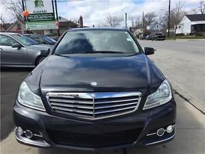 2012 Mercedes-Benz C-Class NAVIGATION-LEATHER-ROOF-ALLOY