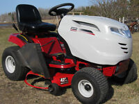 "WHITE  18 H.P , 42 "" cut lawn tractor"