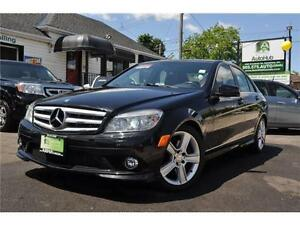 2010 Mercedes-Benz C-Class C300-4 MATIC-LEATHER-SUNROOF-ALLOY