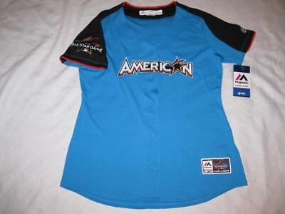 2017 MLB All-Star Game Womens XL Authentic American League Fan Fashion Jersey