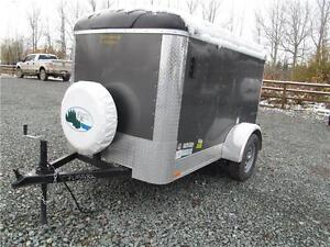 PRE-OWNED 5' x 8' CARGO TRAILER Prince George British Columbia image 2