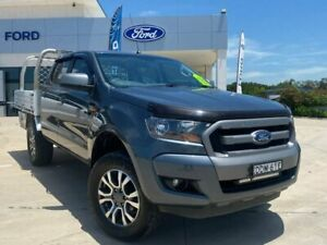 2015 Ford Ranger PX MkII XLS Double Cab Grey 6 Speed Sports Automatic Utility Muswellbrook Muswellbrook Area Preview